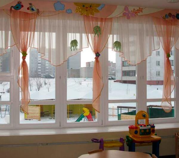 Шторы для детских садов