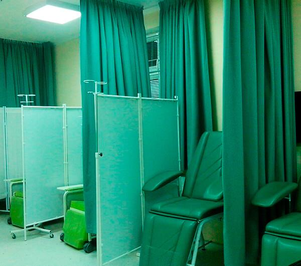 Шторы для медицинских учреждений