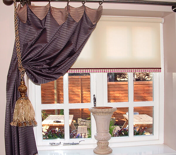 Пошив штор на шторной ленте