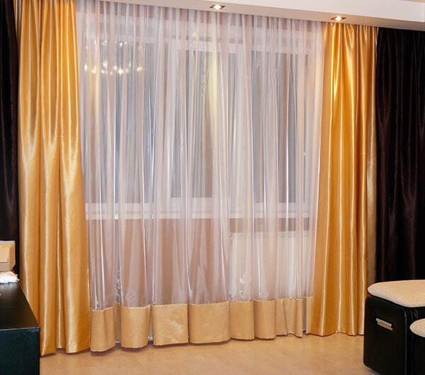 Пошив потолочных штор