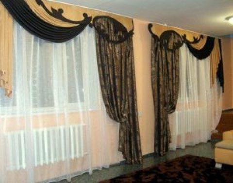 Как пошить шторы в зал