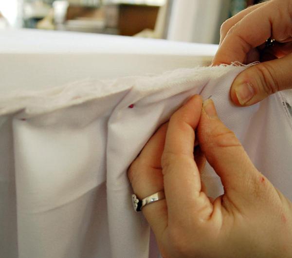 Пошив фуршетных юбок