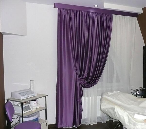Пошив штор для салонов красоты