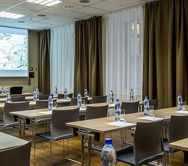 Пошив штор для конференц-зала