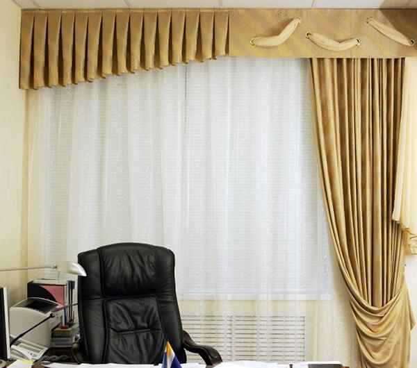 Пошив штор для организаций и учреждений