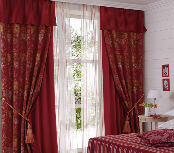 Пошив штор в индийском стиле
