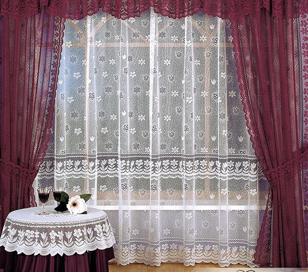 Пошив гипюровых штор