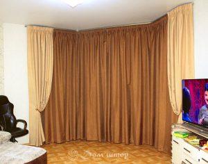 Классический дизайн штор (фото 2). Адрес: Дорогобужский 2-й переулок, 6