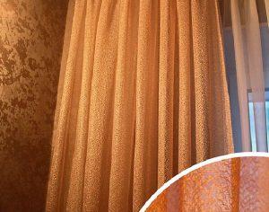 Портьеры в тон интерьера (фото 1). Адрес: Раменки, 11 к3