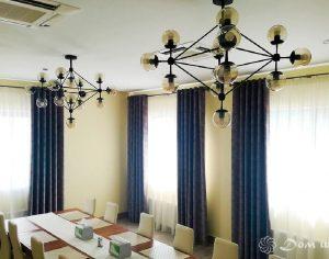 Классические плотные шторы (фото 3). Адрес: Вернадского проспект, 19