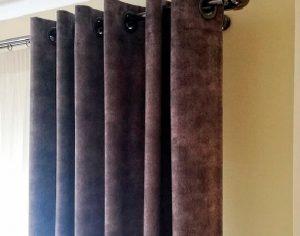 Классические плотные шторы (фото 1). Адрес: Вернадского проспект, 19