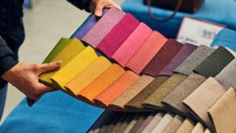 Какие бывают ткани для штор