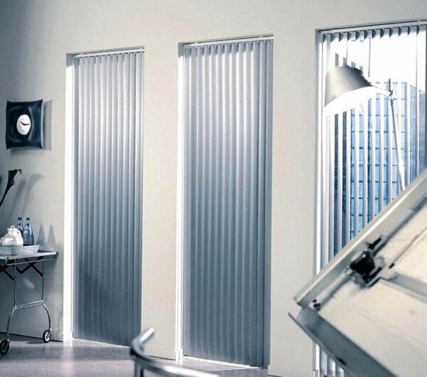 Жалюзи вертикальные алюминиевые