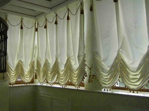 Что собой представляют австрийские шторы