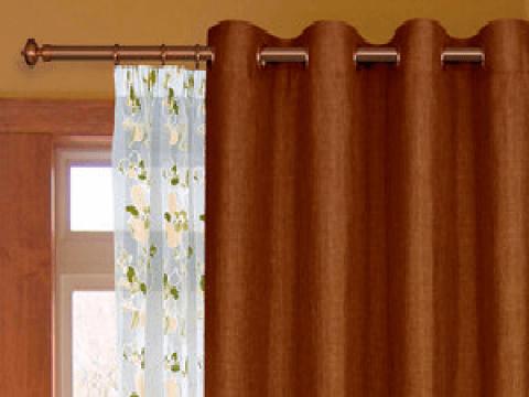 Про шторы на люверсах